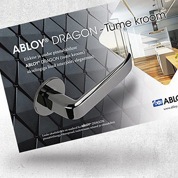 Abloy Dragon Advertisement by Bink Creations