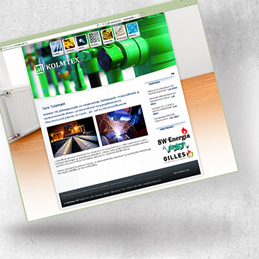 Website Design for Kolmtex by Bink Creations