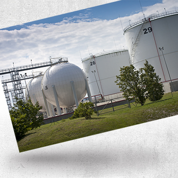 Oil and Gas Storage Tanks by Bink Creations