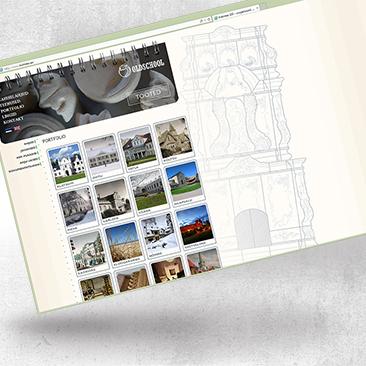 Oldschool website design by Bink Creations