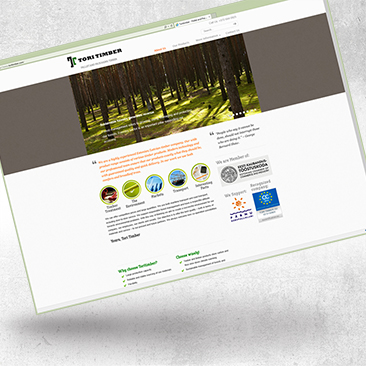 Website Design For Toritimber
