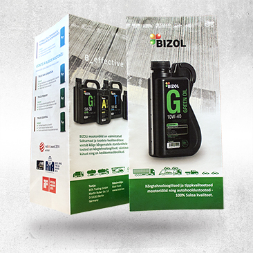 Bizol A65 booklet Design by Bink Creations