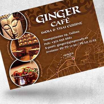 Ginger Advertisement by Bink Creations