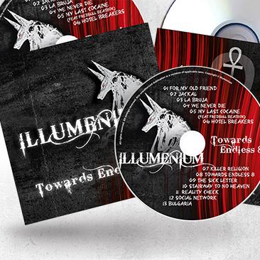 Illumenium Cd Envelope and CD Design