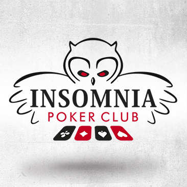 Insomnia Poker Club Logo. Design by Bink Creations