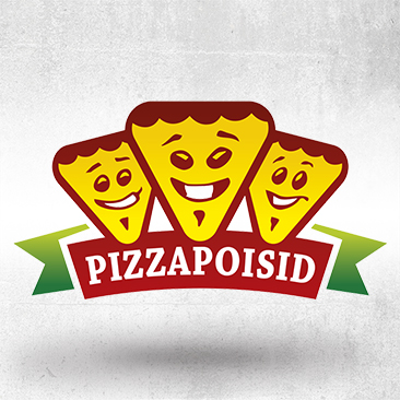 Pizzapoisid logo Design by Bink Creations