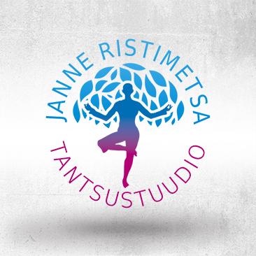 Janne Ristimetsa Tantsustuudio logo by Bink Creations