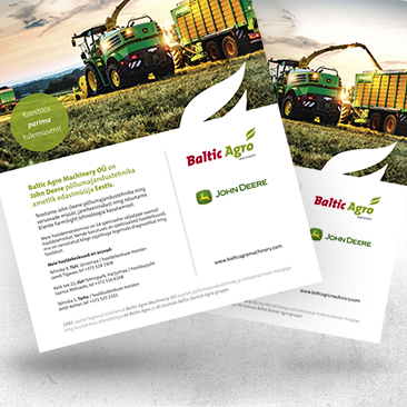 Baltic Agro Machinery reklaam Bink Creations loodud