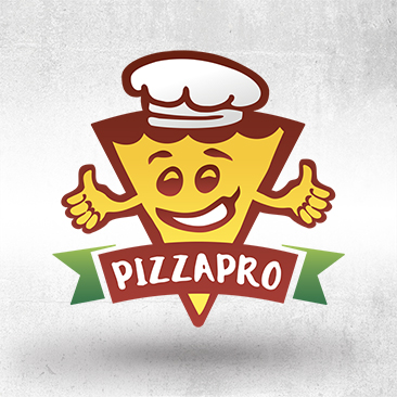 Pizzapro Logo created by Bink Creations