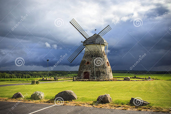Old Windmill. Kuremaa, Estonia. Photo taken: 02 June 2012