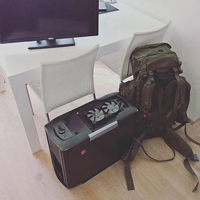 Bink Creations mobiilne kontor pakitud ning reisiks valmis Põhja-Eesti rannikualale