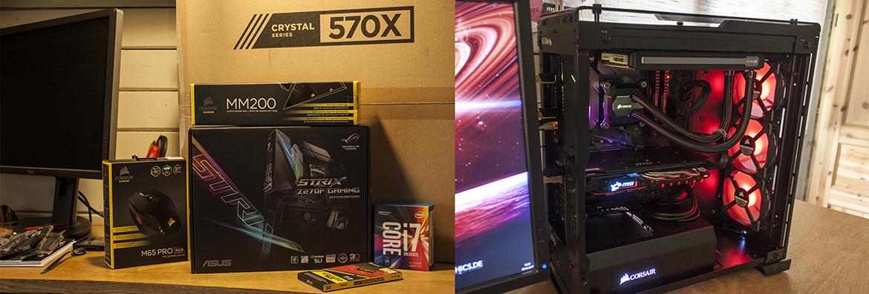 Uus i7 7700K protsessoriga tööjaam on valmis