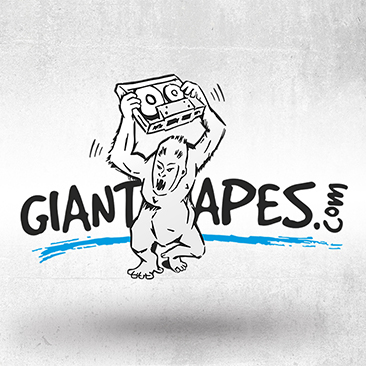 Bink Creations loodud Giant Apes Music logo.