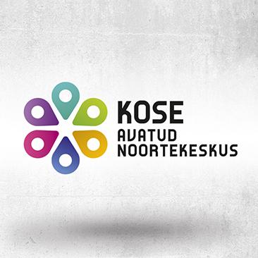 Kose Avatud Noortekeskusele logo