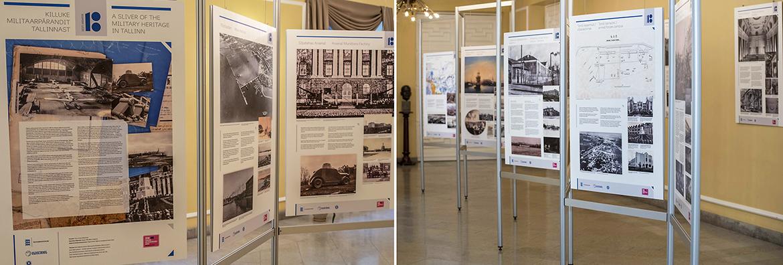 Kaitseministeeriumi näitus militaarpärandist Tallinnas. Kujundus, küljendus ja blanžettide tootmine Bink Creations poolt
