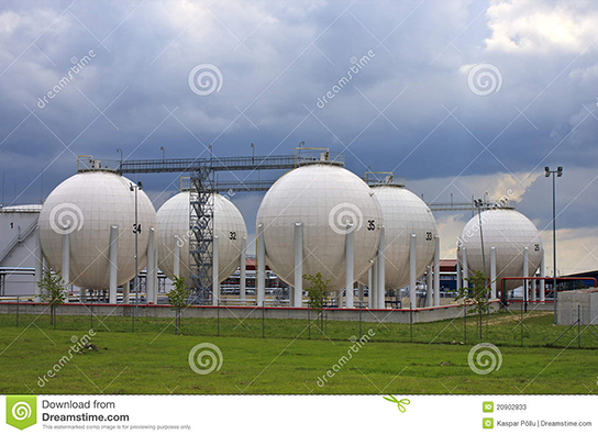 Photo of Gas Storage tanks in Paldiski, Estonia